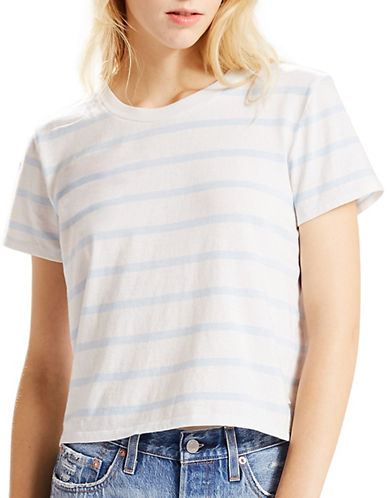 LeviS Surf Striped Tee-AVALON MARSHMALLOW/OMPHALODES BLUE-Small
