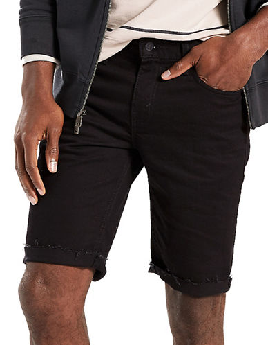 LeviS 511 Slim Fit Cut-Off Shorts Eight Ball-BLACK-38