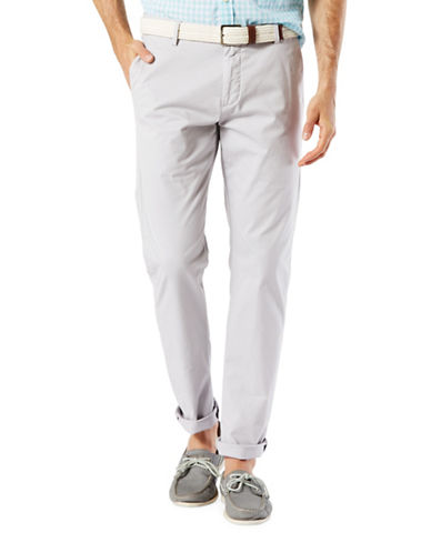 Dockers Docker Premium Clean Khaki Slim Tapered Fit Pants-GREY-36X32