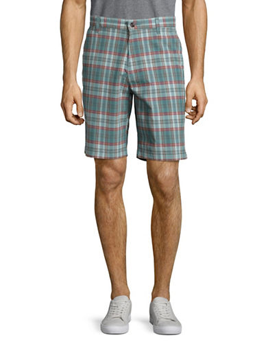 Dockers The Perfect Fit Classic Fit Plaid Shorts-MULTI-COLOURED-42