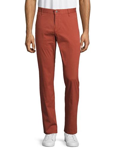 Dockers Alpha Slim Tapered Khaki Pants-RED-38X30