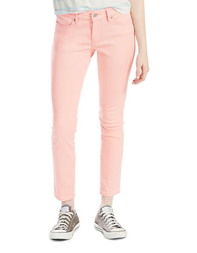 LeviS Ankle Skinny Jeans-CORAL BLUSH-27
