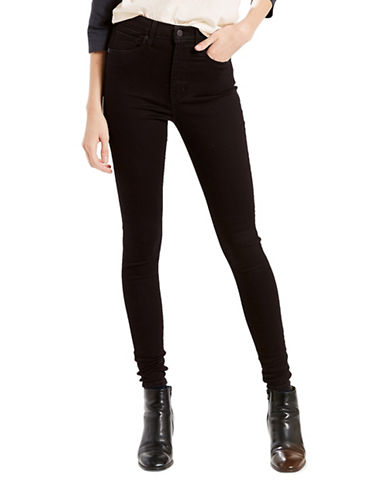 LeviS Mile High Super Skinny Jeans-BLACK-28