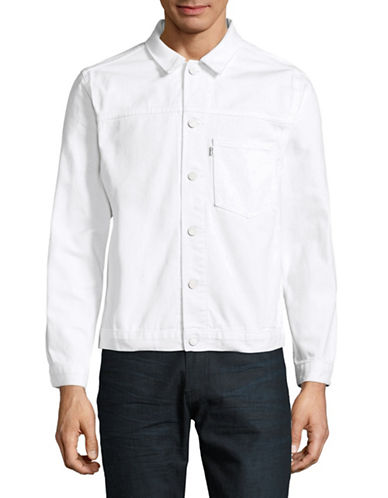 Levi'S Line 8 Trucker Jacket-WHITE-Medium 89060305_WHITE_Medium
