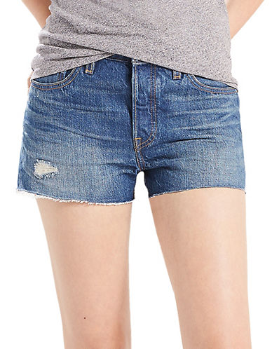 LeviS Distressed Five-Pocket Shorts-CALIFORNIA-31