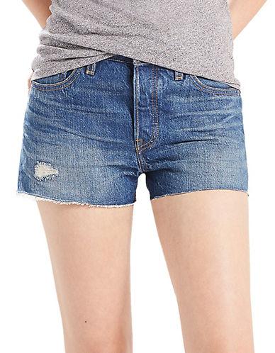 LeviS Distressed Five-Pocket Shorts-CALIFORNIA-25