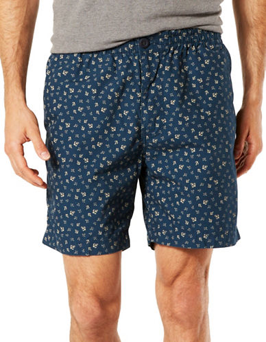 Dockers Weekend Cruiser Classic Fit Shorts-OCEAN-Small