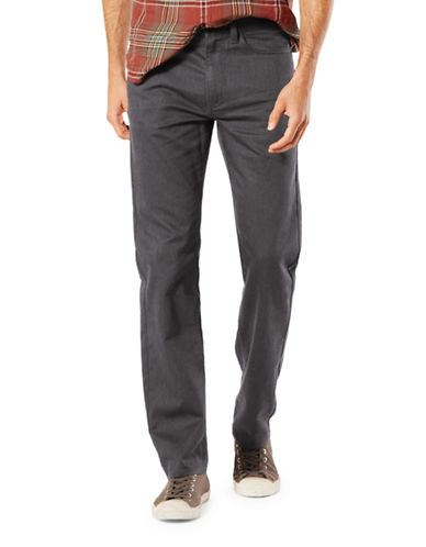 Dockers Jean Cut Soft Stretch Straight Fit-GREY-34X32
