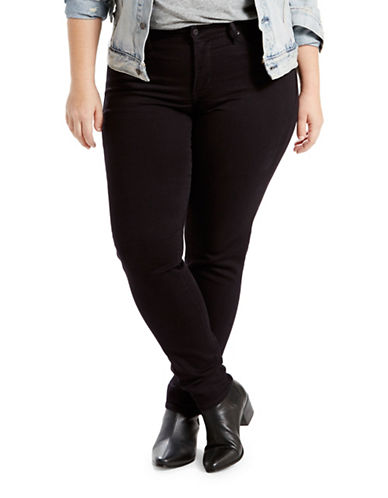 LeviS Plus Shaping Skinny Fit Jeans-BLACK-16W