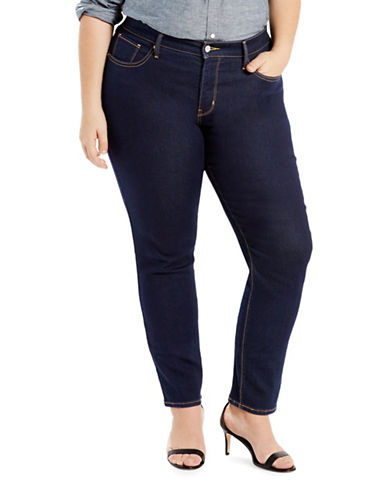 LeviS Plus Shaping Skinny Fit Jeans-BLUE-22W