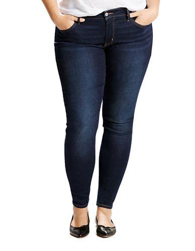 LeviS Plus Plus Shaping Leggings-BLUE-18W