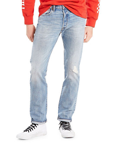 LeviS 501 Ultra Beat Original-Fit Cotton Jeans-BLUE-30X30