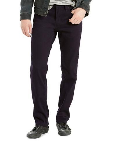 LeviS 511 Brushed Slim-Fit Jeans-BLACK-30X30