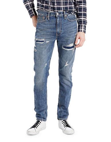 LeviS 510 Skinny-Fit Distressed Jeans-BLUE-30X32