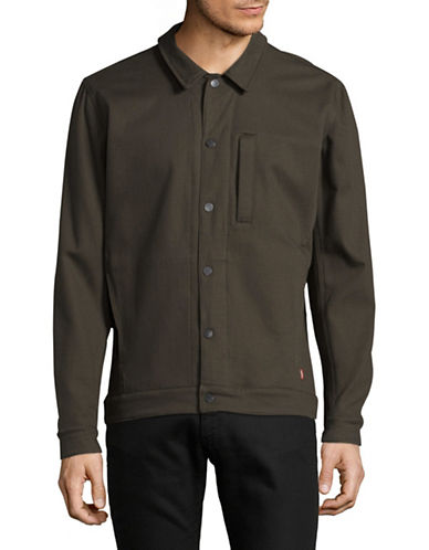 LeviS Commuter Pro Coaches Jacket-GREEN-X-Large