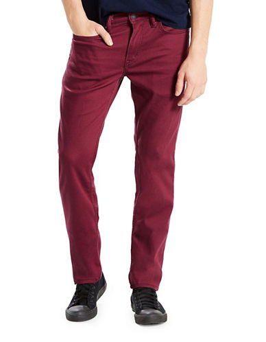 LeviS 511 Brushed Slim-Fit Jeans-RED-34X32
