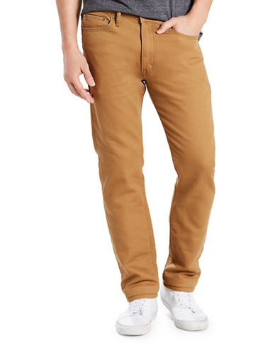 LeviS 513 Slim Straight-Fit Chinos-BROWN-36X30