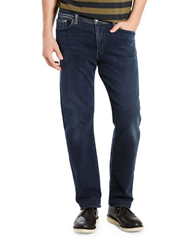 Levi'S 513 Eyser Slim Straight-Fit Jeans-BLUE-34X34