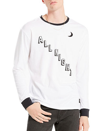 LeviS Line 8 Long-Sleeve T-Shirt-WHITE-Small