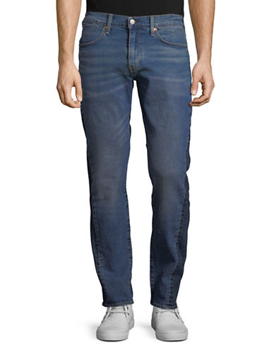 LeviS 511 Altered Slim-Fit Cropped Jeans-BLUE-32X34