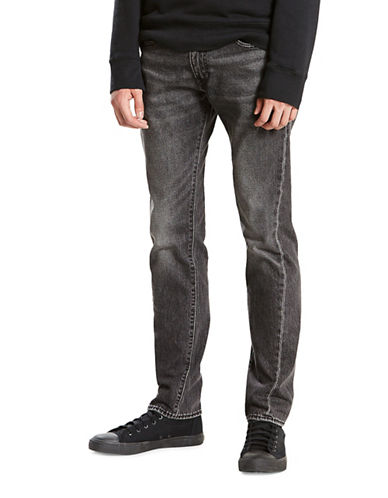 LeviS 511 Slim-Fit Altered Cotton Jeans-GREY-31X32