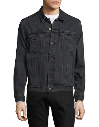 LeviS The Trucker Jacket-GREY-Large