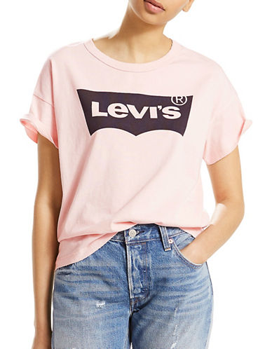LeviS Authentic Cotton Tee-MAUVE-Small