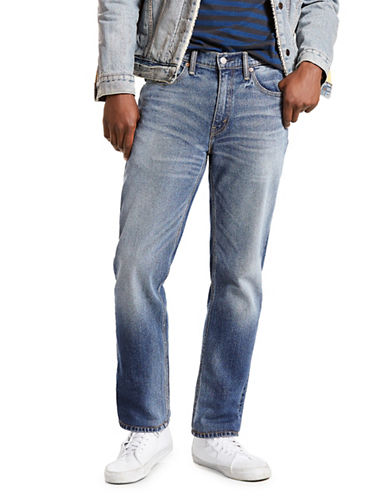 LeviS 514 Back Beat Straight-Fit Jeans-BLUE-34X30
