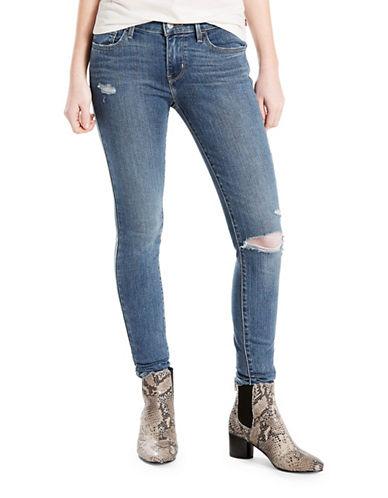 LeviS 710 Super Skinny Vintage Soft Jeans-DESERTED SKY-27X30