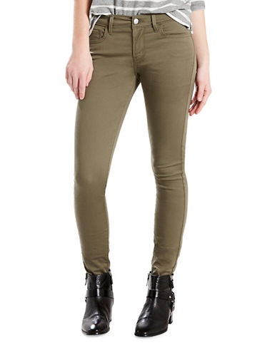 LeviS Signature Super Skinny Mid-Rise Jean-SUPER SOFT KALAMATA-27X30