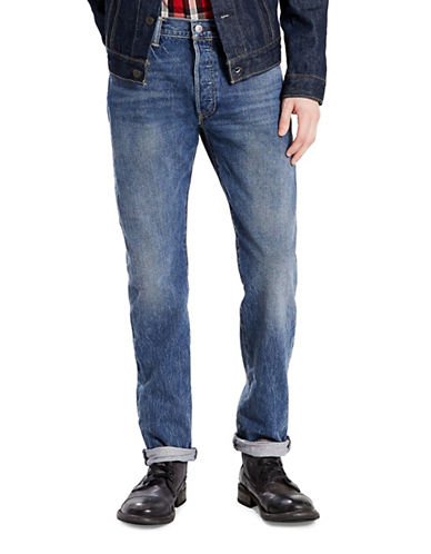 LeviS 501 Saint Mark Original-Fit Jeans-BLUE-32X32