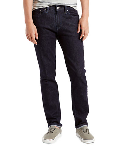 LeviS Midnight Rinse Dark 511 Slim-Fit Jeans-BLUE-34X30