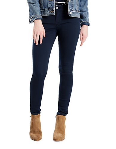LeviS 710 Super Skinny Sateen Jeans-BLUE-27X30