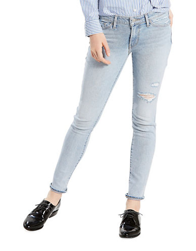 LeviS 711 Skinny Jeans-LETS RUN AWAY-31X32