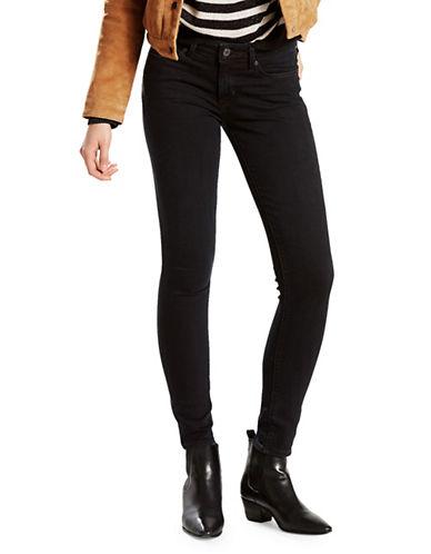 LeviS 711 Skinny Jeans-BLACK-27X32