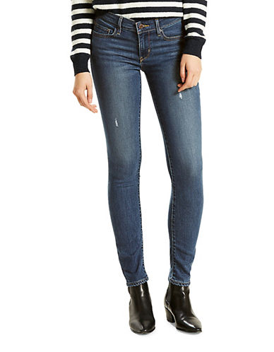 LeviS 711 Skinny Jeans-BLUE-27X32