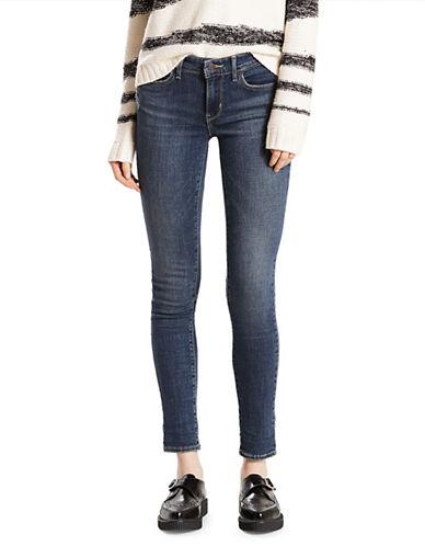 LeviS 711 Slub Skinny-Fit Jeans-BLUE-27X30