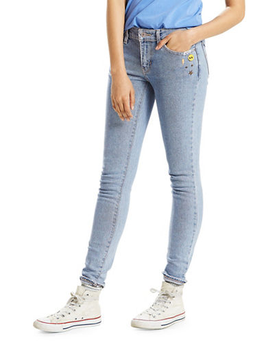 LeviS 711 Skinny Jeans-BLUE-31X32