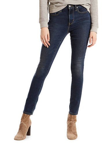LeviS High-Rise Skinny Jeans-BLUE-31X32