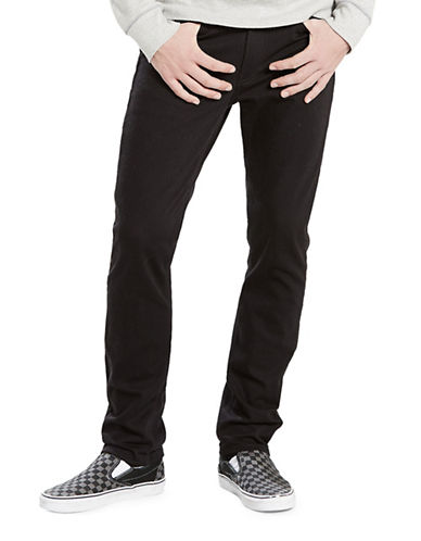 LeviS 511 Slim-Fit Commuter Jeans-BLACK-34X32