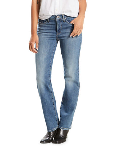 LeviS Shaping Straight Jeans-BLUE-28X32