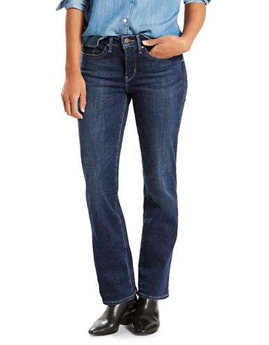 LeviS 314 Shaping Straight Jeans-BLUE-31X32