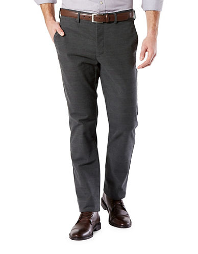 Dockers Slim Tapered Khaki Pants-GREY-34X30