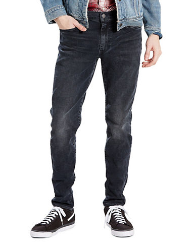 LeviS 512 Steinway Slim Taper-Fit Jeans-BLACK-32X30