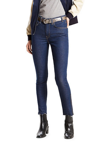 LeviS 721 Vintage High-Rise Skinny Jeans-INDIGO-31X30