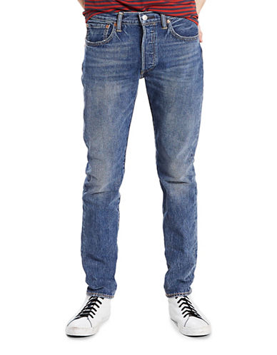 LeviS 501 Saint Mark Skinny-Fit Stretch Jeans-BLUE-34X34