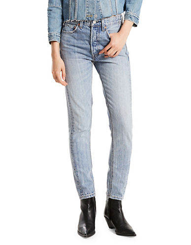 LeviS Altered Cotton Skinny Jeans-BLUE-31X30