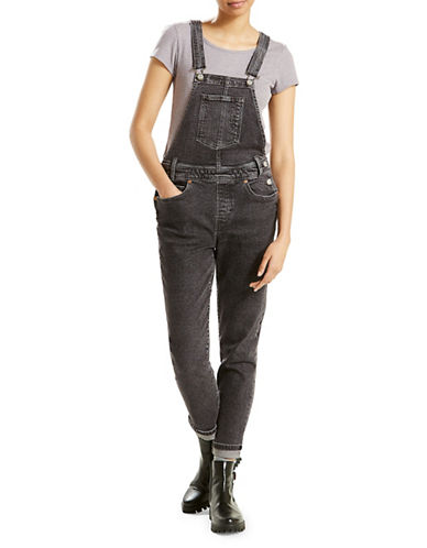 LeviS Original Denim Overalls-BLACK-X-Large