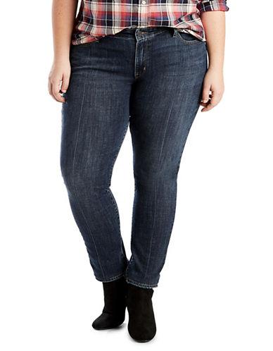 LeviS Plus Plus 711 Skinny Jeans-BLUE-20W