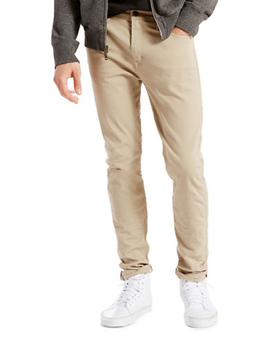 LeviS 510 True Skinny Chino Pants-BEIGE-31X32